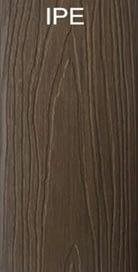 WPC Ipe color wood plastic composites