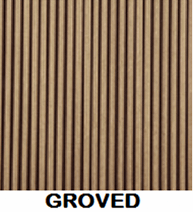 Wood Plastic Composite Surface Texture Finish Groved