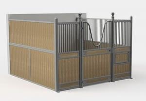 Wood Plastic Composite Stall wood barn