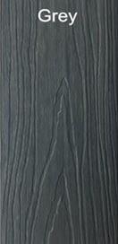 WPC grey color wood plastic composites