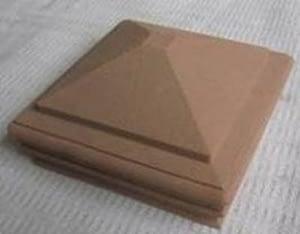 Wood Plastic Composite WPC post cap for Pergola for Shading