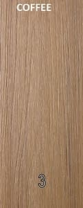 WPC Coffee color wood plastic composites