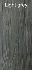 WPC light grey color wood plastic composites