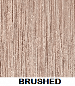 Wood Plastic Composite Surface Texture Finish Brushed