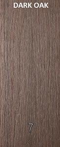 WPC Dark Oak color wood plastic composites