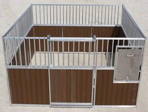 WPC barn Stall wood