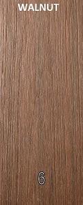 WPC Walnut color wood plastic composites