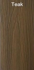 WPC teak color wood plastic composites